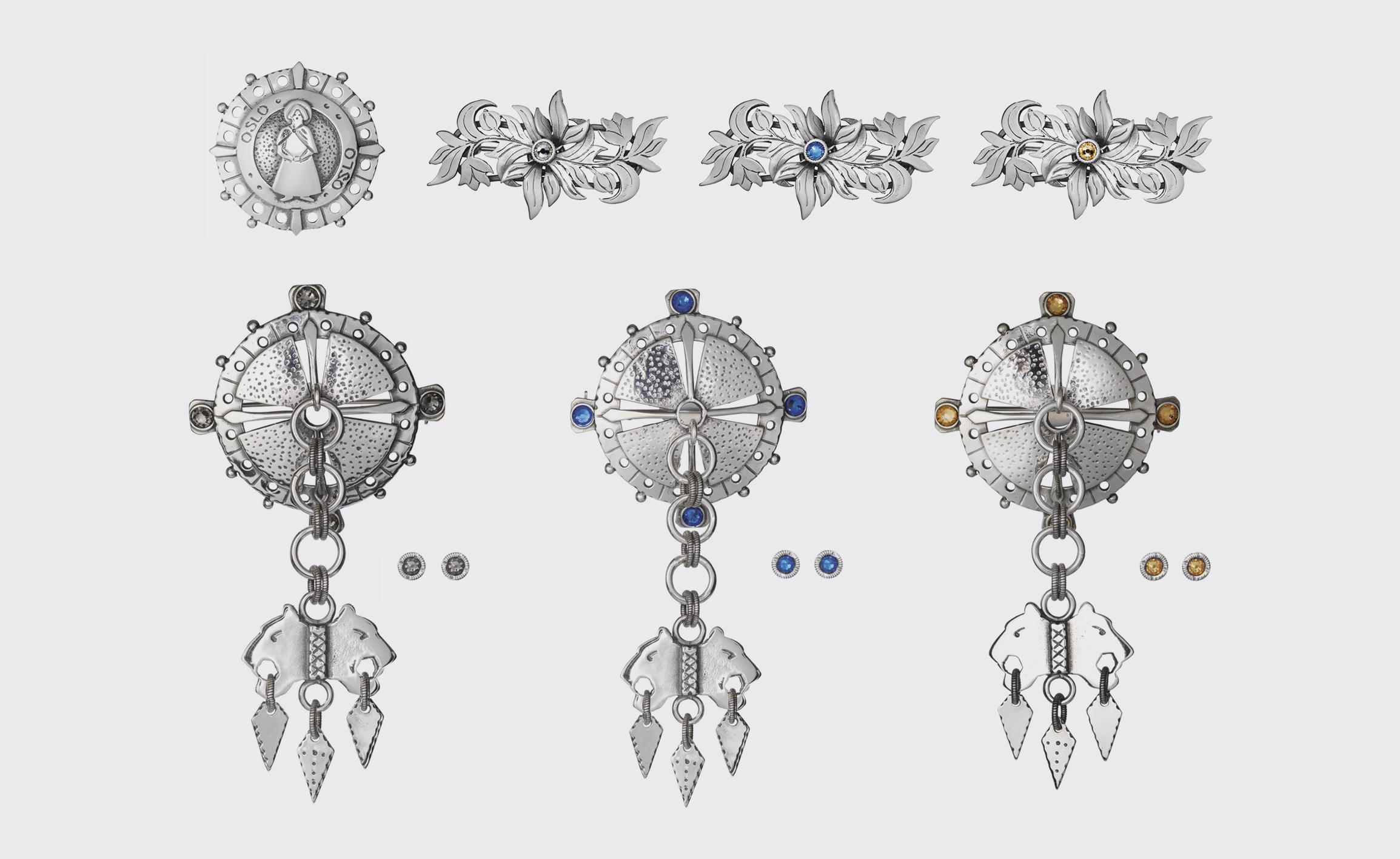 Jubileumsdrakten barn sølv